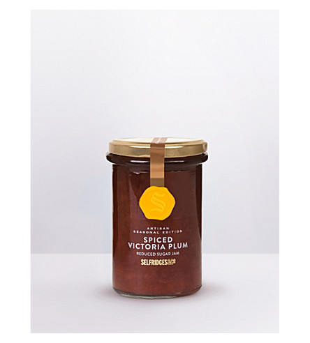 SELFRIDGES SELECTION Artisan spiced Victoria plum jam 340g