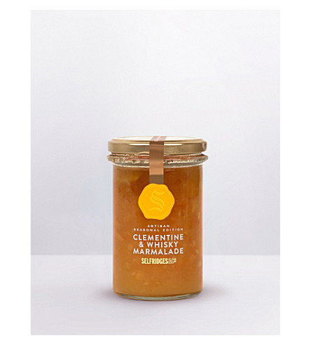 SELFRIDGES SELECTION Clementine & whisky marmalade 358g