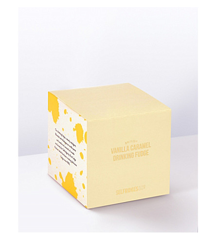 SELFRIDGES SELECTION Vanilla Caramel Drinking Fudge 210g