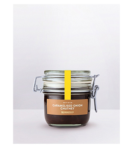 SELFRIDGES SELECTION Artisan Caramelised Onion chutney 240g