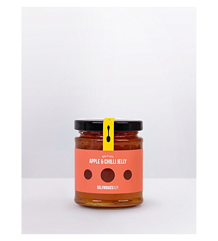 SELFRIDGES SELECTION British Apple & Chilli jelly 235g