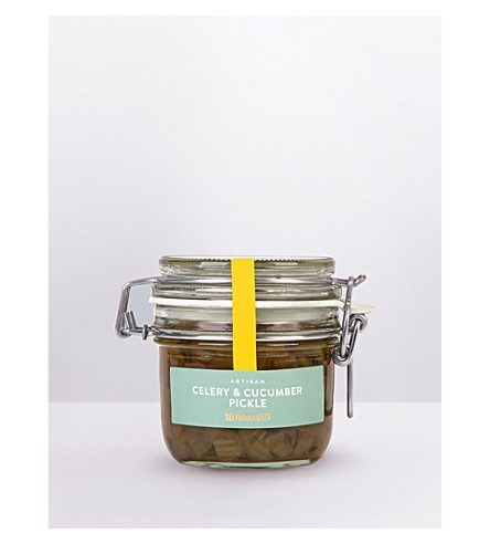 SELFRIDGES SELECTION Artisan Celery & Cucumber pickle 240g