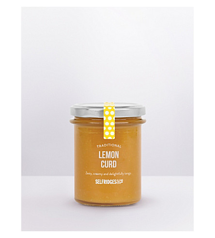 SELFRIDGES SELECTION Traditional lemon curd 230g