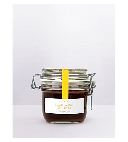 SELFRIDGES SELECTION Boxing Day Plum, Pear and Cinnamon chutney 220g