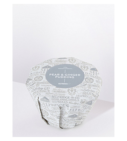 SELFRIDGES SELECTION Traditional Pear & Ginger pudding 450g