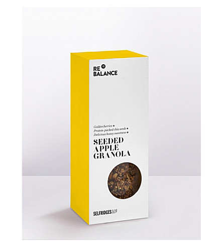 SELFRIDGES SELECTION Seeded apple granola