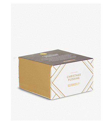 SELFRIDGES SELECTION Traditional Christmas pudding 130g