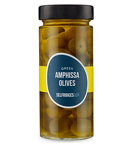 SELFRIDGES SELECTION Greek Amphissa olives