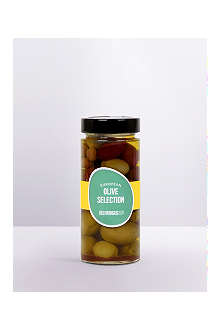 SELFRIDGES SELECTION Greek amphissa olives with preserved lemon