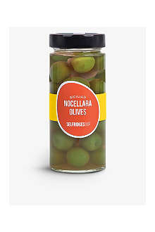 SELFRIDGES SELECTION Sicilian Nocellara olives 275g