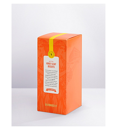 SELFRIDGES SELECTION Honey and oat biscuits 190g
