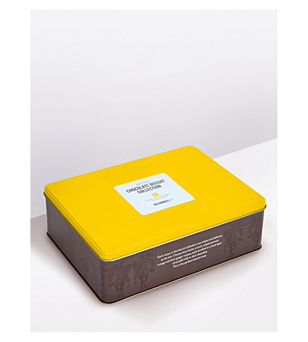SELFRIDGES SELECTION Chocolate biscuit collection tin