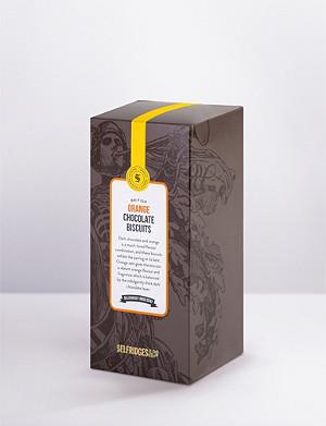 SELFRIDGES SELECTION Orange and dark chocolate biscuits 300g