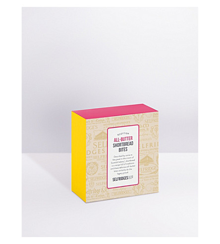 SELFRIDGES SELECTION All-butter shortbread bites 100g