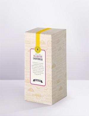 SELFRIDGES SELECTION All-butter shortbread carton