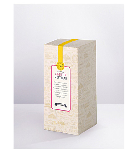 SELFRIDGES SELECTION All-butter shortbread carton
