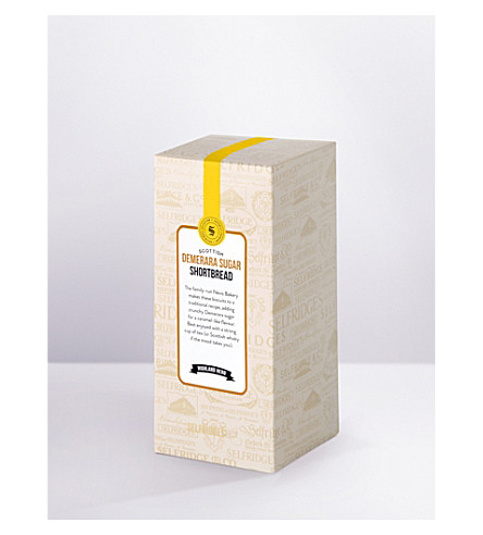 SELFRIDGES SELECTION Demerara sugar shortbread carton