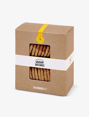 SELFRIDGES SELECTION Scottish savoury oatcakes
