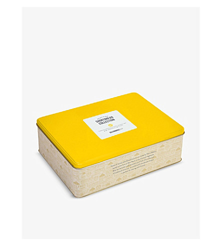 SELFRIDGES SELECTION All-butter shortbread collection tin