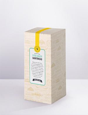 SELFRIDGES SELECTION Stem ginger shortbread 250g