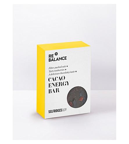 SELFRIDGES SELECTION Cacao energy bar 70g