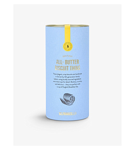 SELFRIDGES SELECTION All-butter biscuit thins 115g