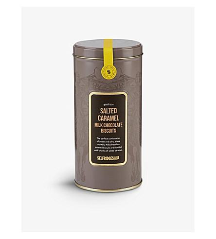 SELFRIDGES SELECTION 英国咸 CARAMEL 奶巧克力饼干180g