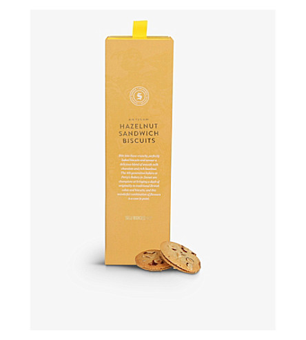 SELFRIDGES SELECTION Hazelnut teatime biscuits 205g