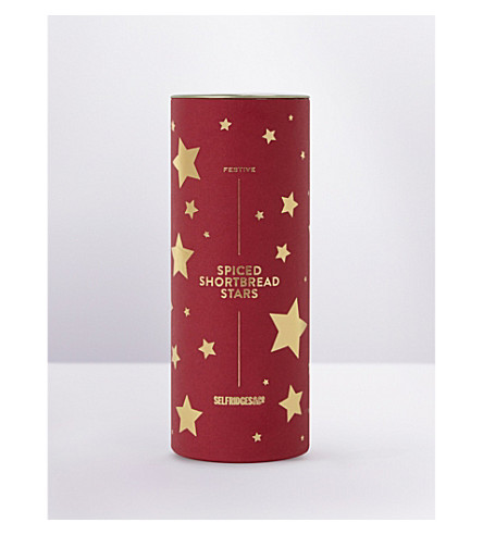 SELFRIDGES SELECTION Star biscuits 120g