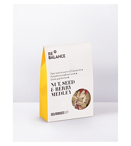 SELFRIDGES SELECTION Nut, seed & berry medley 75g