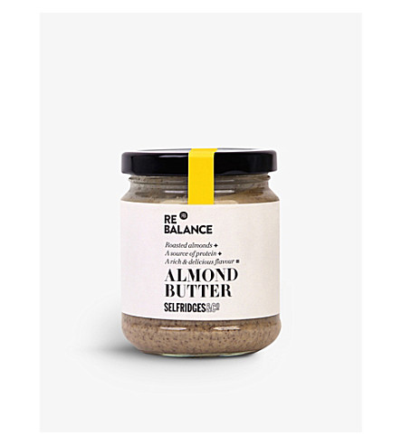 SELFRIDGES SELECTION Almond butter 190g