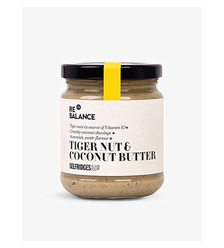 SELFRIDGES SELECTION Cashew, tiger nut & coconut butter 190g