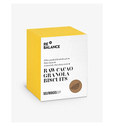 SELFRIDGES SELECTION Raw cacoa granola cookies 200g