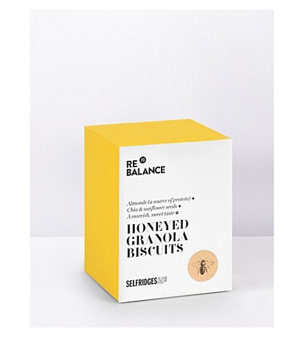 SELFRIDGES SELECTION Honeyed granola biscuits 200g