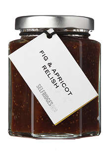 SELFRIDGES SELECTION Fig & Apricot relish 190g