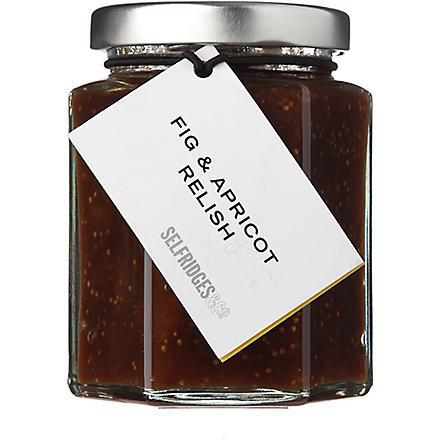 SELFRIDGES SELECTION Fig & Apricot relish 190g