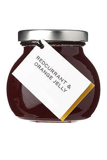 SELFRIDGES SELECTION Redcurrant Orange jelly 180g
