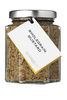 SELFRIDGES SELECTION Wholegrain mustard 180g