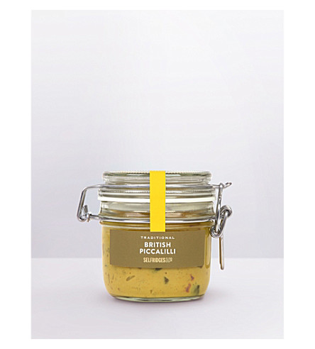 SELFRIDGES SELECTION 传统英国 Piccalilli 170g