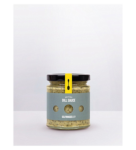 SELFRIDGES SELECTION British Dill sauce 180g