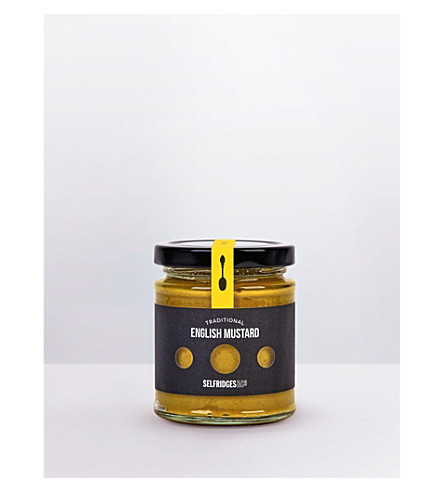 SELFRIDGES SELECTION Traditional English mustard 180g