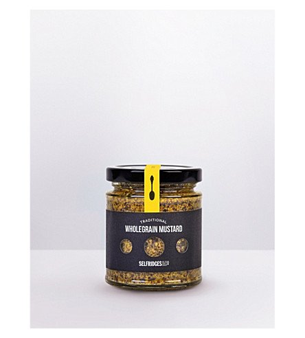 SELFRIDGES SELECTION Traditional Wholegrain Mustard 180g