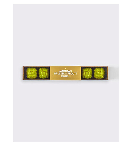 SELFRIDGES SELECTION Marzipan brussel sprouts