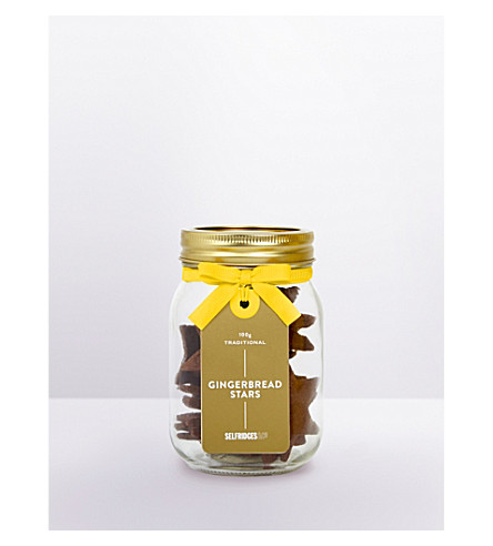 SELFRIDGES SELECTION Gingerbread stars 100g