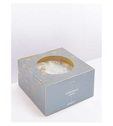 SELFRIDGES SELECTION Christmas cake 1.1kg