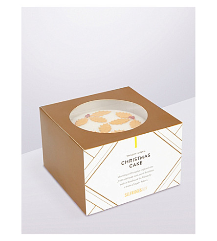 SELFRIDGES SELECTION Christmas cake medium