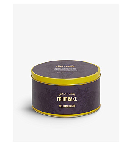SELFRIDGES SELECTION Fruit cake in a tin 450g