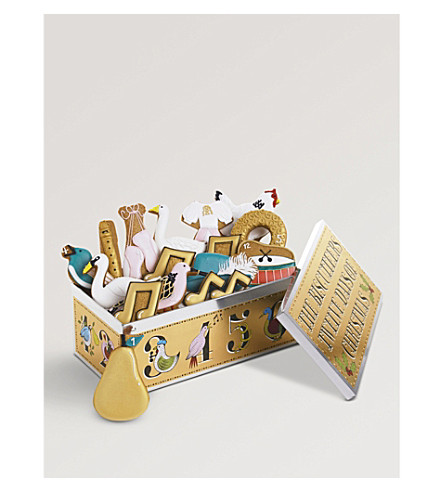 biscuiteers twelve days of christmas gift box previousnext