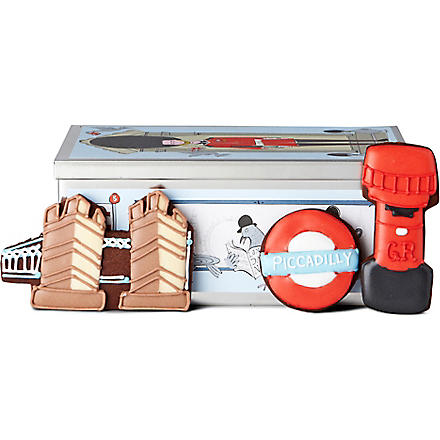 BISCUITEERS London Mini tin