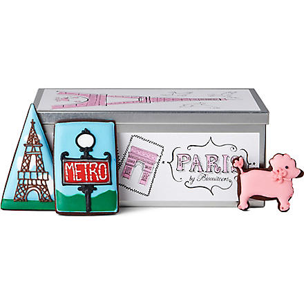 BISCUITEERS Paris tin